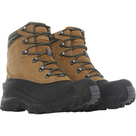 The North Face Chilkat IV Shoes Men utility brown/new taupe green